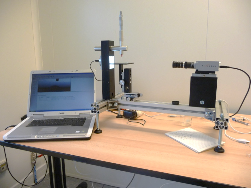 Picture of GBX MCAT Contact Angle Metrology