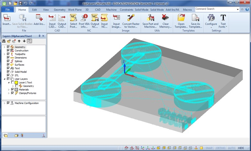 Picture of Alphacam Software